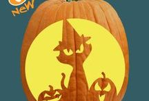 2013 Pumpkin Carving Patterns / We've added a bunch of new patterns this year!
