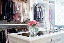 Walk in closets and storage / Säilytystiloja ja vaatehuoneita