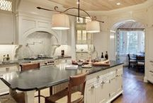 Kitchen Inspiration / A go-to board for Kitchen remodeling Ideas from projects completed by Glave and Holmes Architecture.