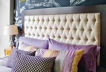 Headboard Inspiration / Custom Upholstered Headboard Inspiration - If you see it here, we can create it for you!