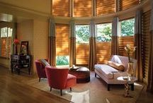 Hunter Douglas / This is a collection of Hunter Douglas window fashions to inspire you!!
