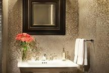 Bathrooms / A collection of beautifully designed bathrooms.