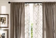 Window Treatments / Window treatment inspiration and ideas