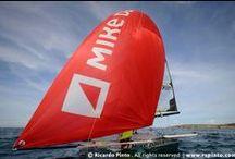 Sailing Team / A dupla de vela da classe 49er, Francisco Andrade e João Matos Rosa, conta com o apoio da Mike Davis para chegar aos jogos olímpicos do Rio 2016.