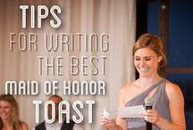 Wedding Toasts / Find inspiration and tips for your Wedding Toasts!