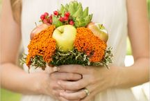 Fall wedding / Fruit arrangements