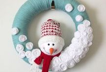 Snowman and Christmas things