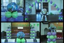 Encore Balloon Decor / Balloons make everyone happy!  Let us help transform your next celebration with balloons.  www.encoreeventdesign.com