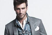 Men - fashion photography Inspiration / Male model -  posing, styling, lighting and design inspiration