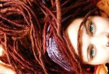 Dreadlock'd / Fierce girls with well-maintained dreads. And some guys. They be fierce too.