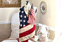 Patriotic crafts! / Love our country? Honor it with some red white and blue crafts!