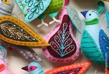 Something lovely to make one day / Great craft ideas to put on my 'to do list'. I can't say I've tried that many so far but they are lovely to look at.