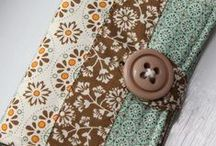 Fat quarter sewing / Projects to make and sew with small pieces of fabric