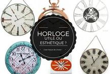 Horloges design / Vous voulez une belle horloge qui ne fait pas qu'afficher l'heure ? Vous tombez bien, jetez un œil à notre sélection design !