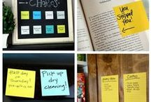 Say it with Post It / Discover how Post It notes can be used creatively for communication. Get organised and make communication fun at work, home or ANYWHERE.  Check out the pins to make your  office stationery interesting. Get creative and Say it with Post -It!