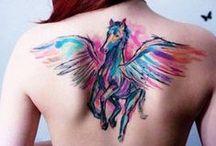 Horse Tattoos / Beautiful equestrian tattoos