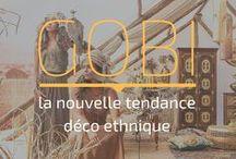 Gobi : la nouvelle tendance déco ethnique / Laissez-vous séduire par notre nouvelle collection Gobi. Un subtil mélange de vintage, de bois patinés et de métal précieux. C'est à découvrir sur notre blog !  #KARE #JOYOFLIVING