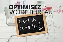 Optimisez votre bureau pour la rentrée / Bientôt la rentrée ! Il est temps de remettre de l'ordre sur son bureau. Découvrez nos conseils pour vous aider à optimiser votre bureau en toute sérénité.