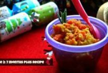 Indian Baby Food - Stage 2: 7 Months Plus / Indian food suitable for babies. No salt, sugar or chillies