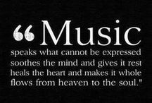 Music feeds the Soul / Love all kinds of music...these are some of my faves / by Angie Cabrero