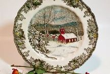 Using Plates in Your Shabby Decor