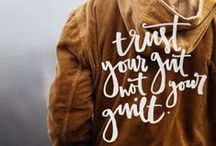 Quotes + Notes / Stay motivated and inspired with our favorite quotes and sayings from around the web!  / by Luvo