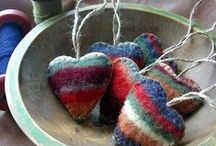 blanket craft / diy craft from upcycled wool blankets / by Grassroots Ecostore