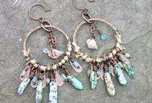 Mineral & Stone & Metal jewelry / ásványok-kövek-fémek együtt