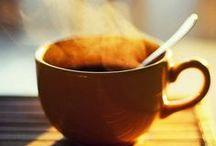 Kahvi- ja teehetkiin / kahvia ja teetä