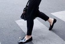 FASHION: STREET STYLE / Classic street style with a hint of inspiration from edgy fashion and Parisian chic.