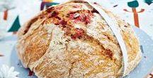 Leivon leivon leipäsiä... / Leipien ja sämpylöiden ohjeita