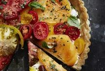 Tart Recipes / A tart is a baked dish consisting of a filling over a pastry base with an open top. The pastry is usually shortcrust pastry (usually fruit-based, sometimes with custard)