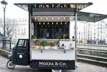 Pop Up Stores , Coffee Trucks, and Mobile Stores  on Pinterest / Pop up stores give inspiration for design and marketing. Make the most out of small space and attract attention. Discover visually inspiring ideas for your business.