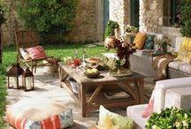 Decoración de exteriores / Inspiración e ideas para decorar terraza, patio, azotea