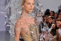 3D printing fashion / We have a 3D printer at school and use these images to inspire our students.