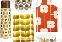 Kitchen decor / Things I would like in my kitchen one day. With a splash of Orla Kiely