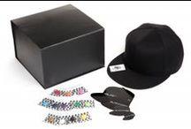 BLACKCAPS Baseball Caps / It's Black. It's a Cap. Change the SNAP.