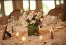 Reception Centerpieces / Centerpieces for the tables at your wedding reception.