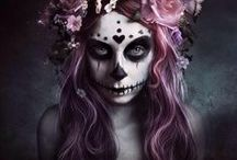Day of the Dead / Sugar skulls are a unique form of art that needs to be recognized more cx / by Queen Wizard