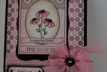 TPD Seed Packets & Seed Packet Accessories / TPD seed packet stamp with all sorts of accessories