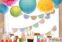 birthday deko