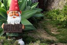 Les Nains de Jardin / Ils veillent sur nos jardins ... avec beaucoup d'humour et de fantaisie !