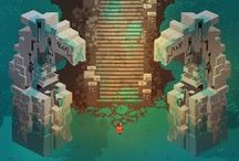 pixel art and games