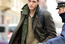 Menswear. / Mens Streestyle that inspire me for winter !