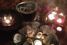 Season of the Witch / Magickal items/tools for use/decor/adornment in the practice of Witchcraft, as well as imagery for inspiration. / by Megan Johnson