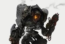Monster Robot Design