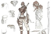 Character sketches/construction/sheets