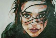 'Peinture : Portraits