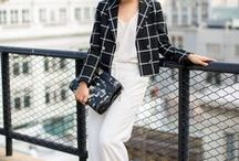 Work Outfits / A corporate dressing guide with both ready to shop items pinned from online stores as well as inspirational streetstyle and blogger outfits.