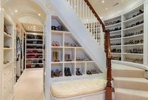 ❀ Shoe Closets to Die For ❀ / Shoe closets every girl would die to have.